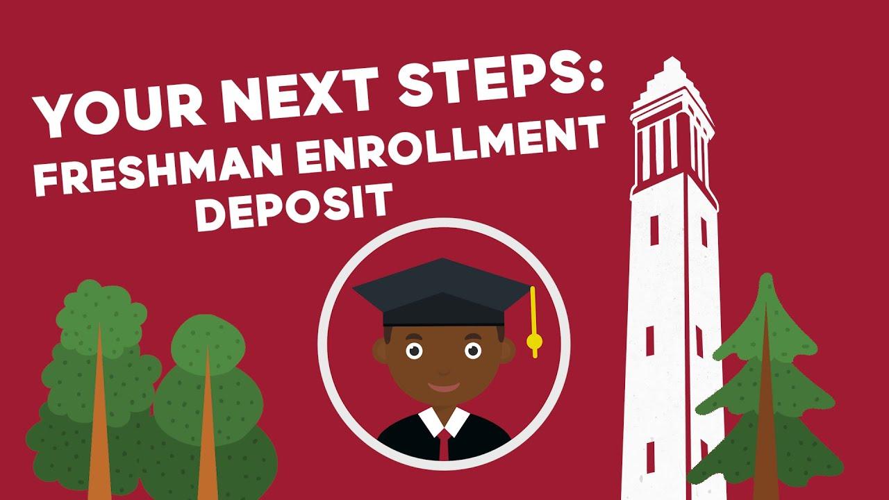 Your Next Steps: Freshman Enrollment Deposit | The University of Alabama