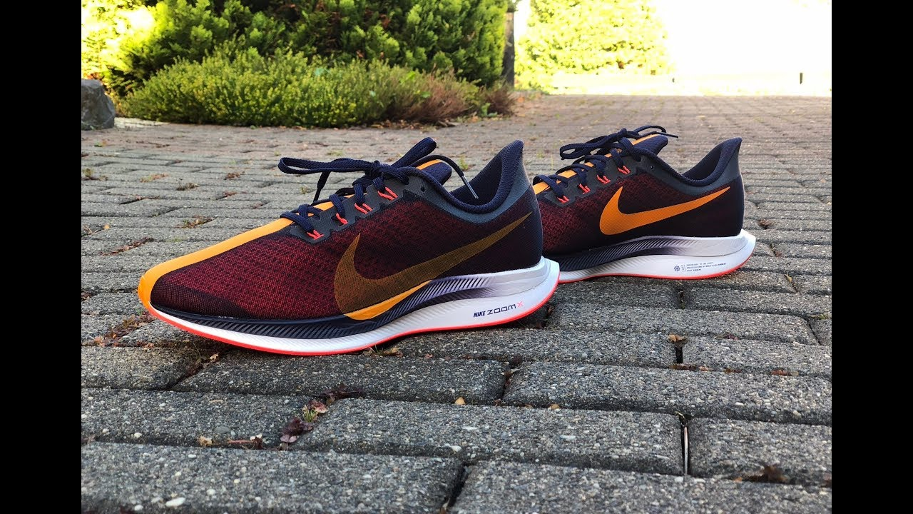 c058f18c4ee94 Nike Zoom Pegasus 35 Turbo  Blackened Blue Orange Peel