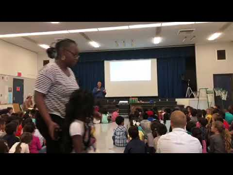 Respect award assembly Naranca elementary school
