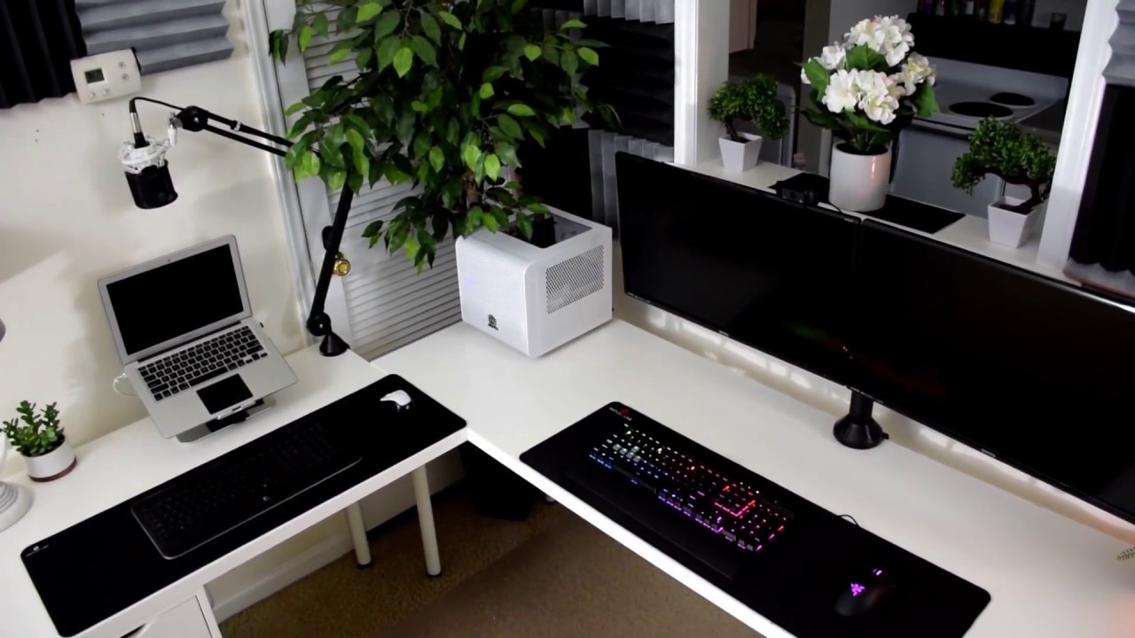 Best Desk  Ikea Desk Hack  Ikea Furniture  Gaming Desk