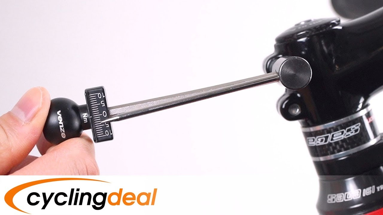 """Venzo 1//4/"""" 2-10NM Bike Bicycle Portable Torque Wrench"""