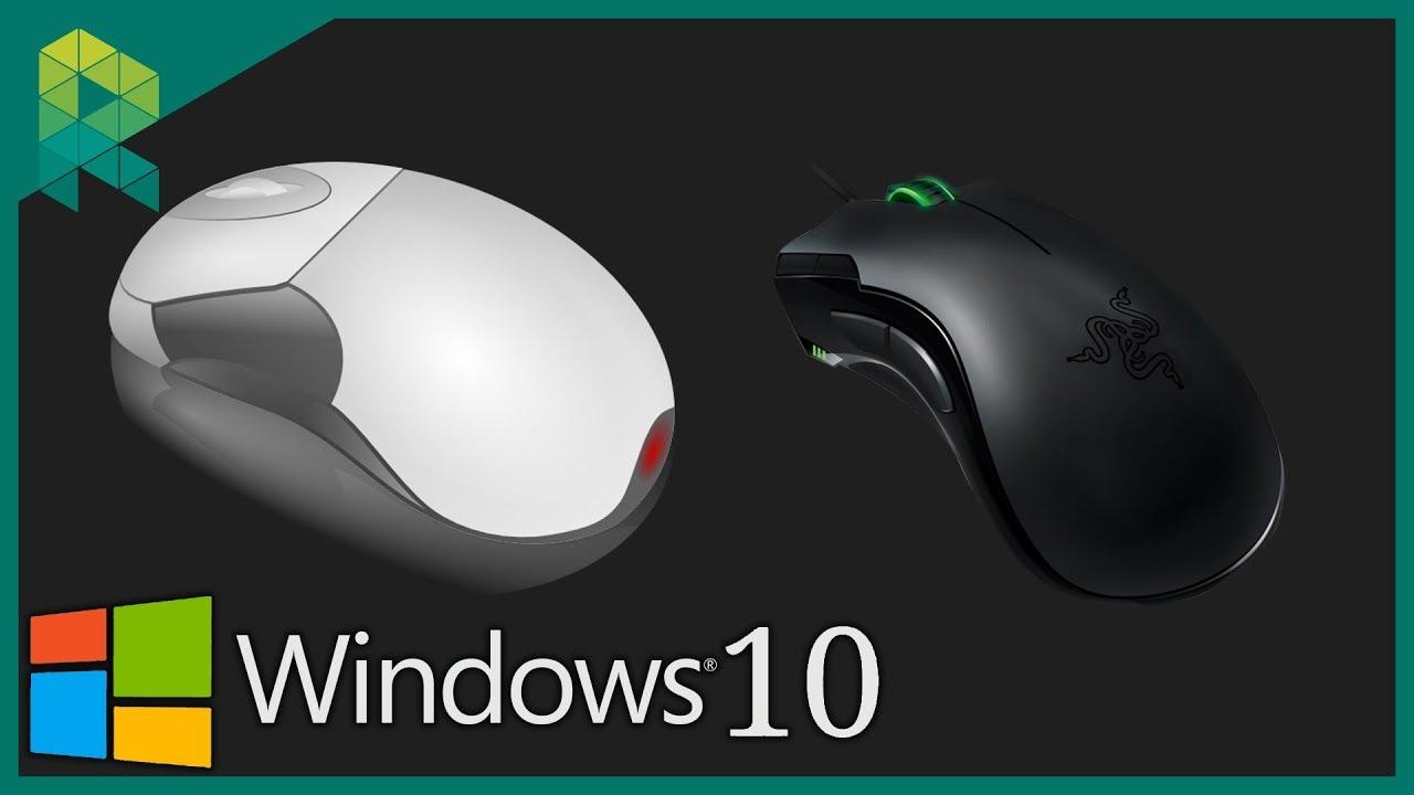 Maus Einstellen Windows 10