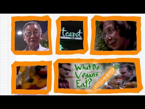 Teapot Vegetarian House, Redmond -- Ep. 002 What do vegans eat?