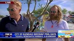 Cory's Corner: City of Glendale discount pool days