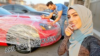 SHE DESTROYED MY CAR (Prank Gone Wrong!!)