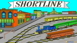 Shortline Railroad gameplay (PC Game, 1992)
