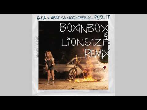 GTA & What So Not ft. Tunji Ige - Feel It (BoxinBox & Lionsize Remix)