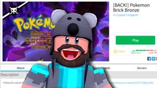 """POKÉMON BRICK BRONZE IS BACK!!"" 