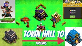TOWN HALL 10 - Rush to town hall 12 pt10 - Clash of clans