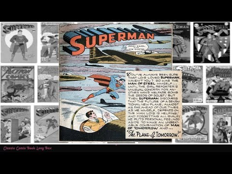 """Superman: """"The Plane of The Future"""", Worlds Finest Comics #21"""