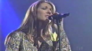 THE LEGENDARY CELINE DION 's FIRST SONG OF THE 2000 's - LIVE FOR THE ONE I LOVE