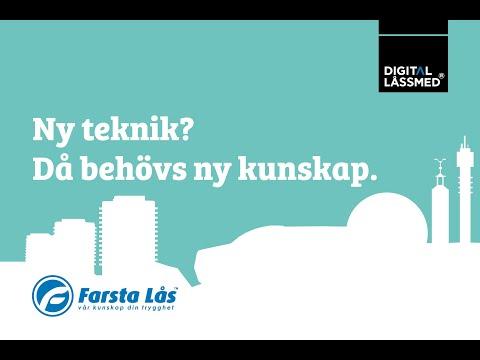 Webinar Farsta Lås Digital Låssmed® i Farsta/Stockholm