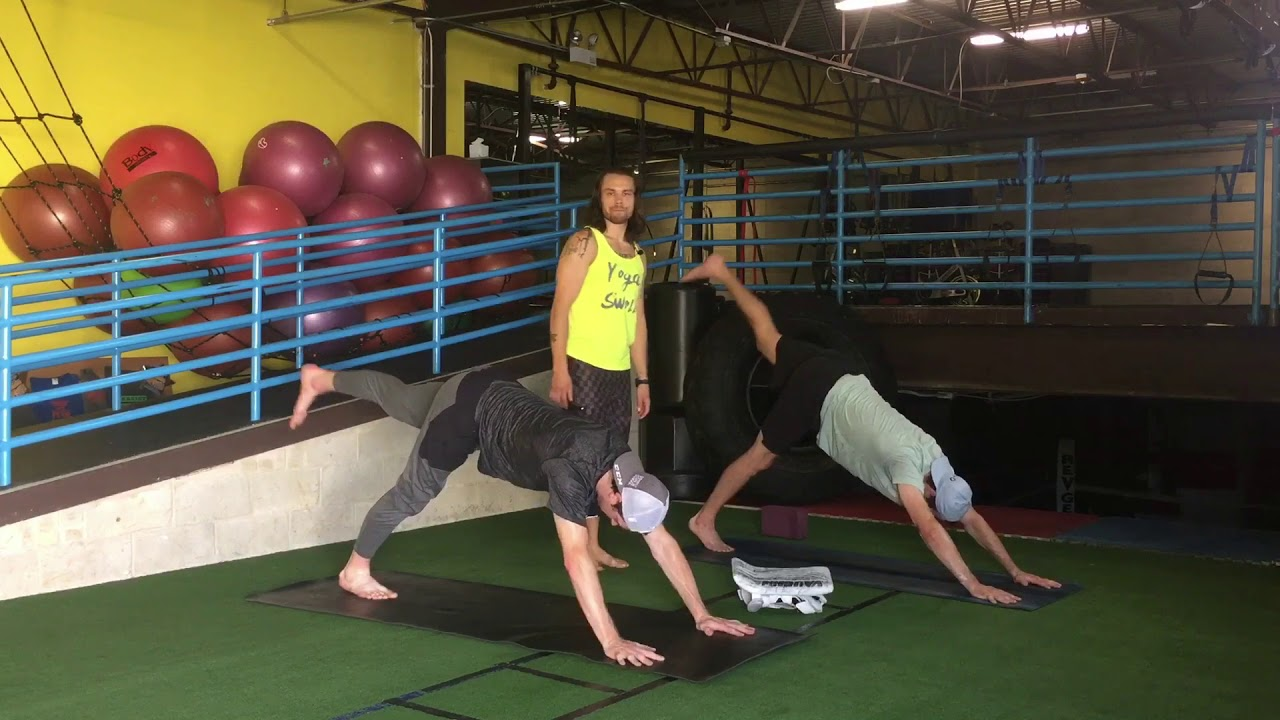 Yoga For Athletes Hockey Goalies Hip Groin Prehab Yoga With