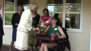 The Duchess of Cornwall visits a medical research centre and a children