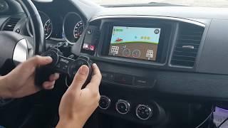 Обзор SQ аудиосистемы в Mitsubishi Lancer X. Планшет вместо магнитолы. Nexus 7 2013 2gnd