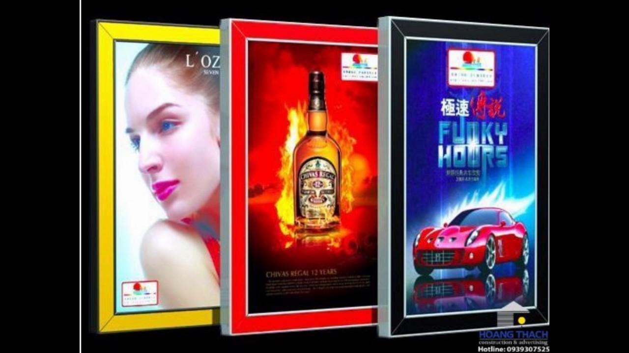 Hộp đèn quảng cáo – Hộp đèn siêu mỏng