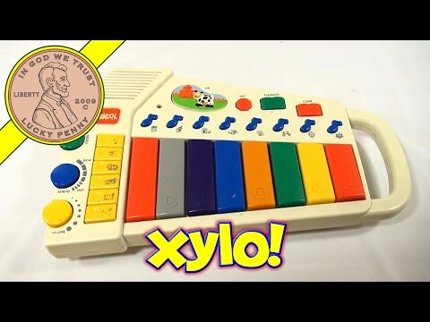 Playskool Farm Friends Musical Xylophone, 1995 Hasbro Toys
