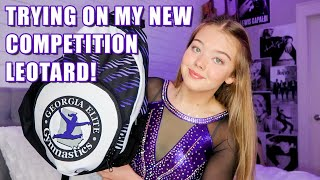 Trying On My New Competition Leotard! | What's in my Competition Gym Bag | Whitney Bjerken