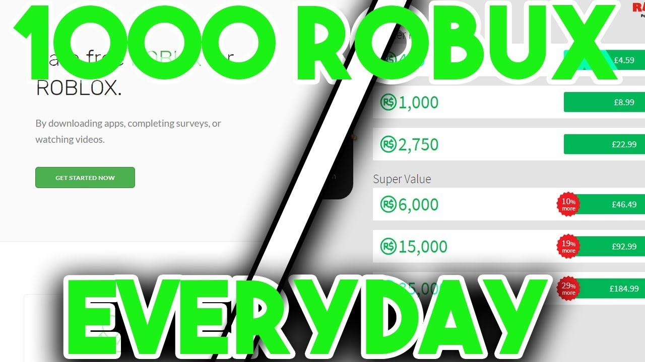 Wwwget Free Robuxxyz - How To Get 1000 Robux A Day How To Get Free Robux 2019 15k Robux Giveaway Craftingrabbit