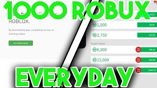 WIE ZU GET 1000 ROBUX Ein TAG | WIE MAN FREE ROBUX 2019 BEKOMMT | 15K ROBUX GIVEAWAY| -CraftingRabbit