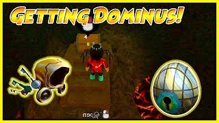 OPENING THE GOLDEN DOMINUS GATE (All Fragments) | Roblox Egg Hunt 2018
