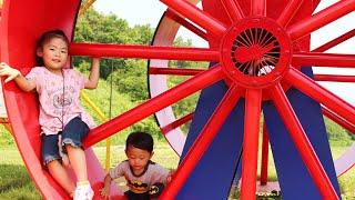 【十和田市馬事公苑】駒っこランドで遊ぶ、ふれあう、食べるRino&Yuuma thumbnail