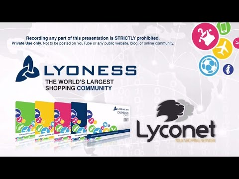 Lyoness Global Multifaceted Loyalty Card.