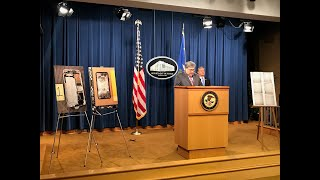 AG Barr, FBI Dir Wray Announce Developments in the Investigation of the NAS Pensacola Shooting