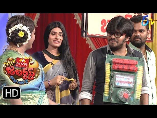 Sudigaali Sudheer Performance | Extra Jabardasth | 1st December 2017  | ETV Telugu