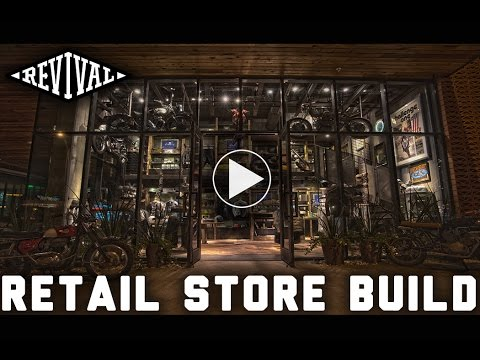 Revival Cycles Retail Store Build