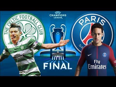 Final da Champions League - Celtic vs PSG -  Fifa 18 Carreira Manager EP85