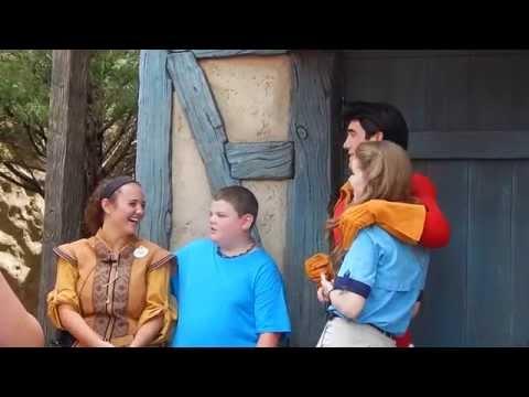 GASTON gets a second statue?  Magic Kingdom Disney World