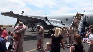 the last p3 orion home from the middle east