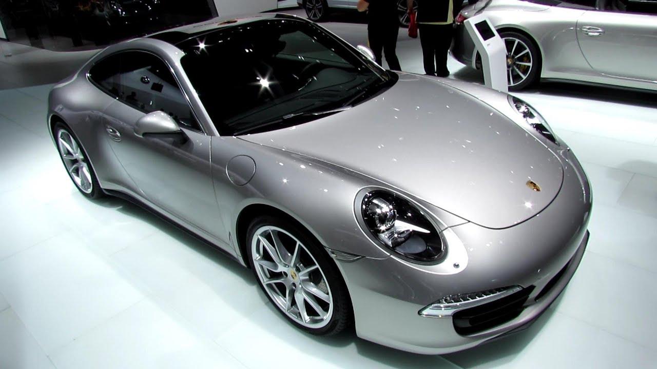 2013 Porsche 911 Carrera 4 Exterior And Interior