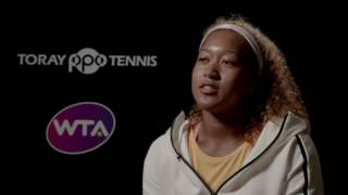 Naomi Osaka 2016 Toray Pan Pacific Open Semifinal Interview