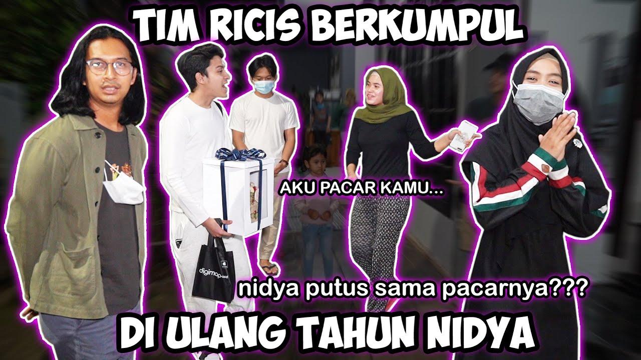 TIM RICIS KUMPUL DEMI ULANG TAHUN NIDYA.. Atap Jadi Pacar Nidya!!!!