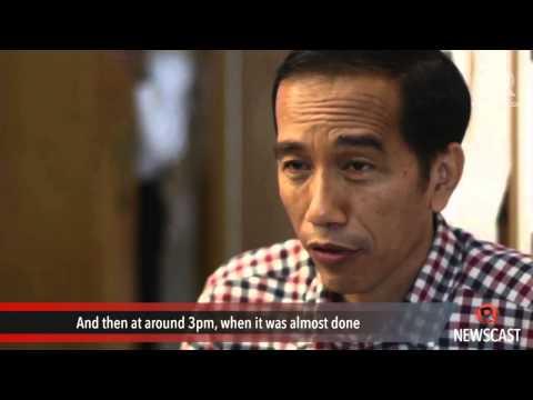 Jokowi: I won but monitor poll results