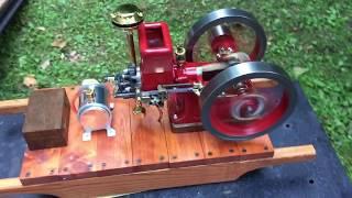 1/3rd scale Hit and Miss engine, Breisch
