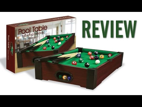 """Westminster Tabletop Mini Pool Table Review (16"""" x 9"""")"""
