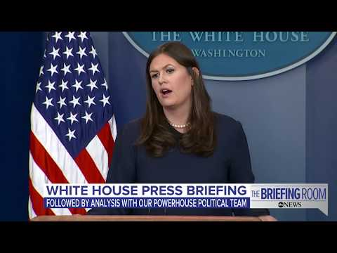 White House press briefing 9/01/17