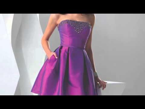 2011 Flirt Prom Gowns - YouTube