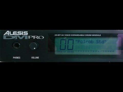 Alesis DM Pro Edit Function