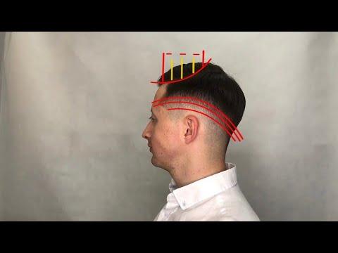 Как сделать плавный переход в мужской стрижке / стрижка фейд (fade) / Стрижка машинкой