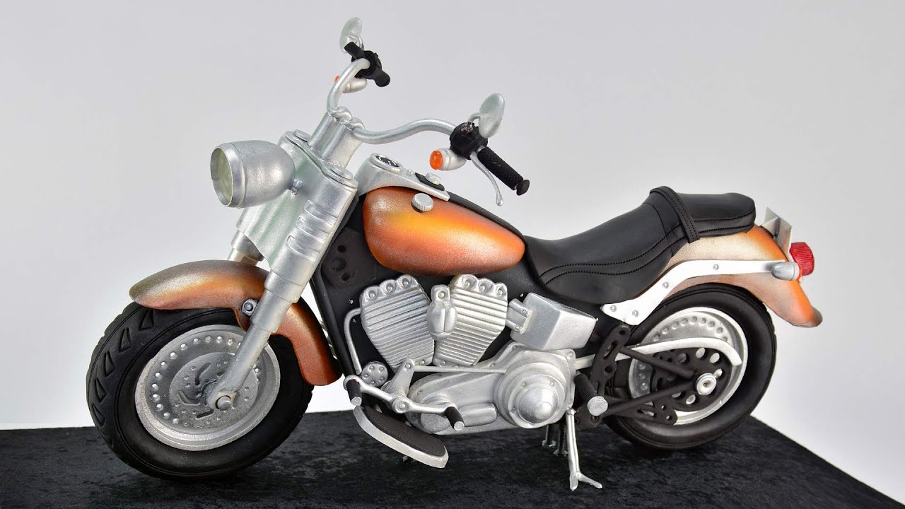 3d Cruiser Motorcycle Cake Tutorial Overview Youtube