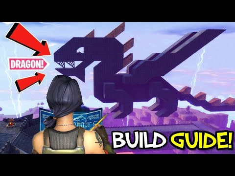 Fortnite How to Build a Dragon (Step by Step Tutorial)