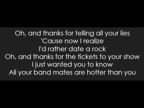Abigail Breslin - You Suck (Lyrics)
