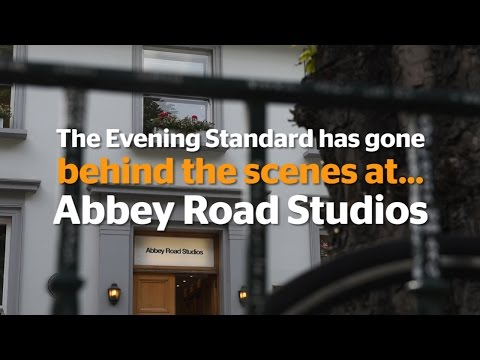 Behind the scenes at...Abbey Road Studios