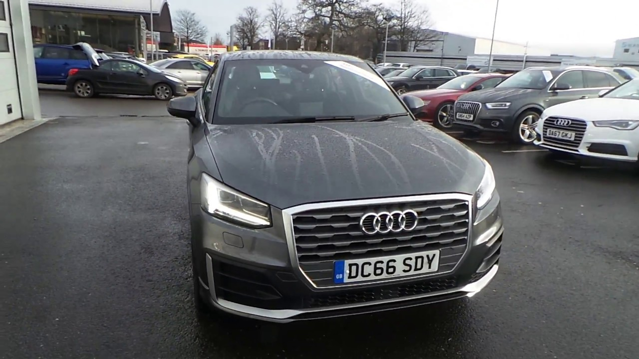 audi q2 s line 1 6 tdi 116 ps 6 speed for sale at crewe audi youtube. Black Bedroom Furniture Sets. Home Design Ideas