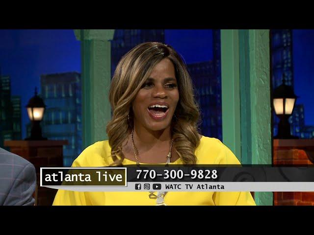 ATLANTA LIVE 09/13/21 | Nancy J. Lewis hosts Pastor Kimberly Jones & Nathaniel Lane