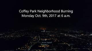 Santa Rosa Fire | Coffey Park Burning Across Town at 6 a.m. Oct. 9th, 20170 | HD Video